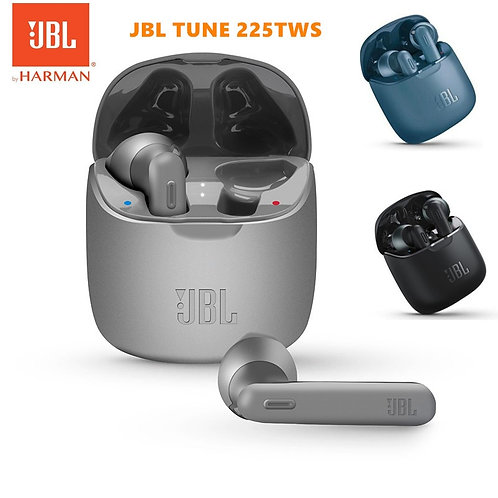 JBL TUNE 225TWS Wireless Bluetooth Earbuds  Bass Sound