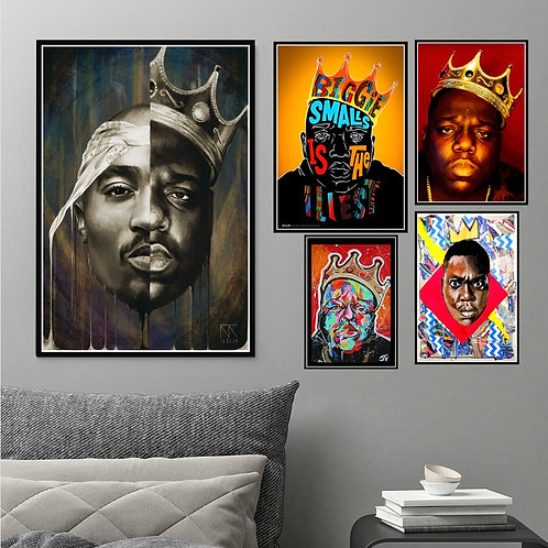 The Infamous B.I.G Biggie Smalls Tupac 2PAC Shakur