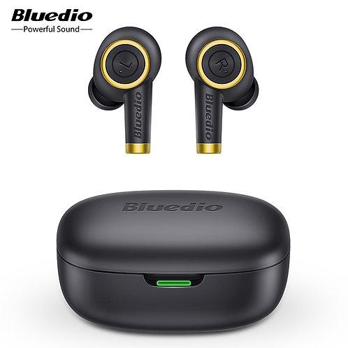 Bluedio Wireless Earphone,  5.0, Bass, Waterproof Earbuds, Charging Box, Mic