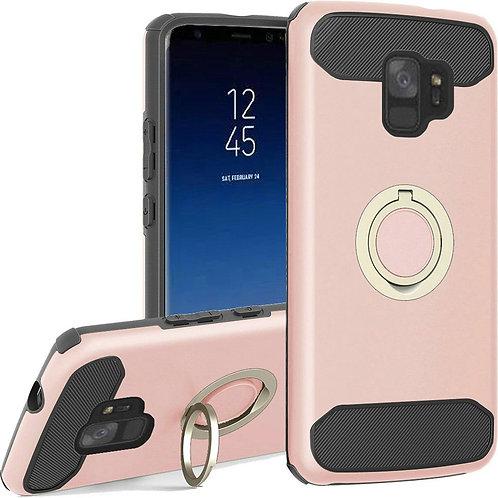Samsung S9 Ring Case (Rose Gold)