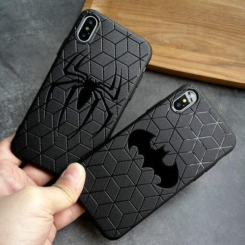 Superhero Soft Silicone Mobile Phone Case