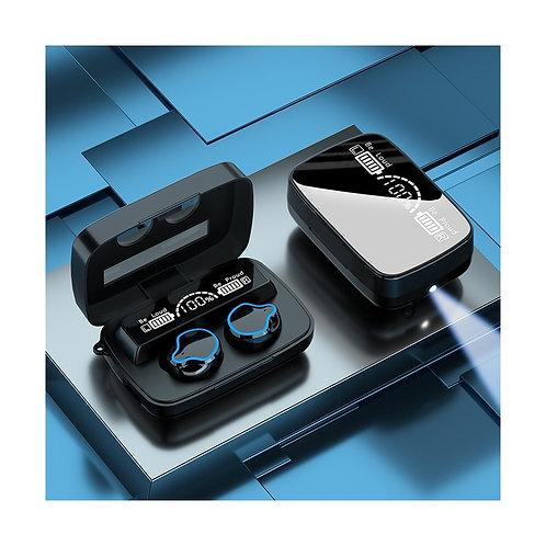 Tws Earphone Power Bank Headset Led Power Display Wireless Noise Reduction