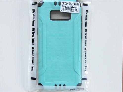Slim Armor Brushed Metal Design (Teal) Samsung 8