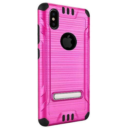 Tech Shockproof Case (Purple) Fits Iphone X