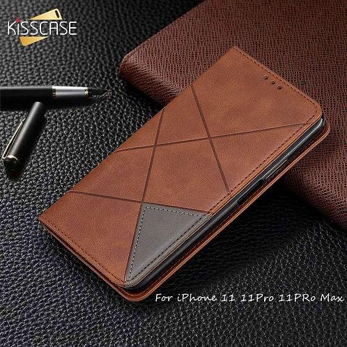 KISSCASE Magnetic Flip Case for iPhone