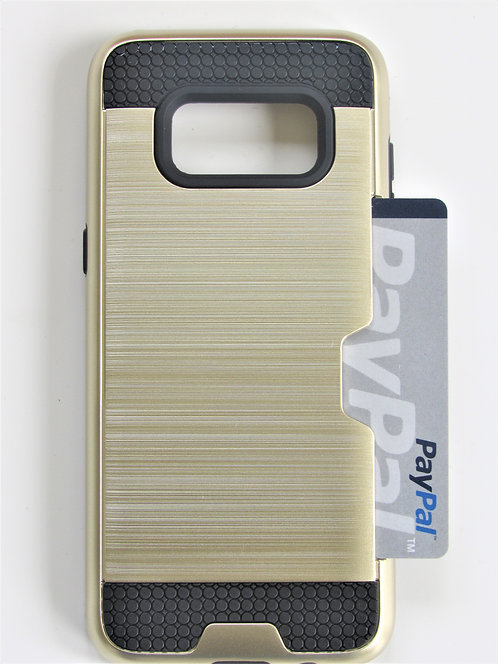 Premium Dual Case with card slot Galaxy