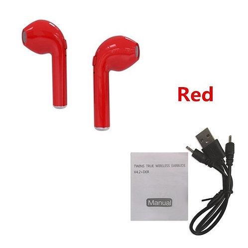 Wireless Earpods (Red)