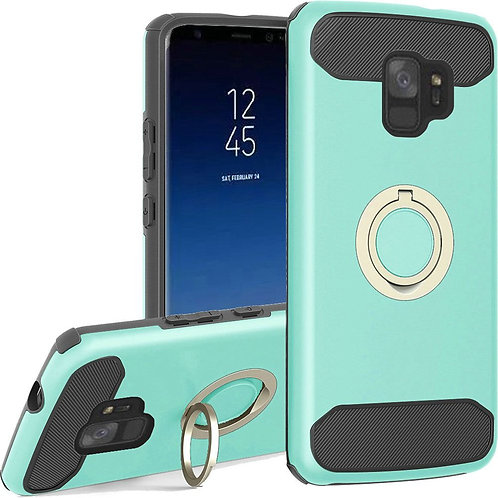 Samsung S9 Ring Case (Teal)