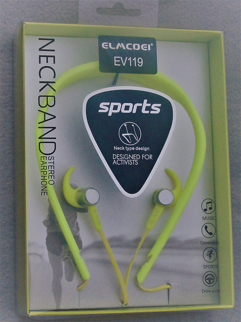 Sport Plug in Headphones