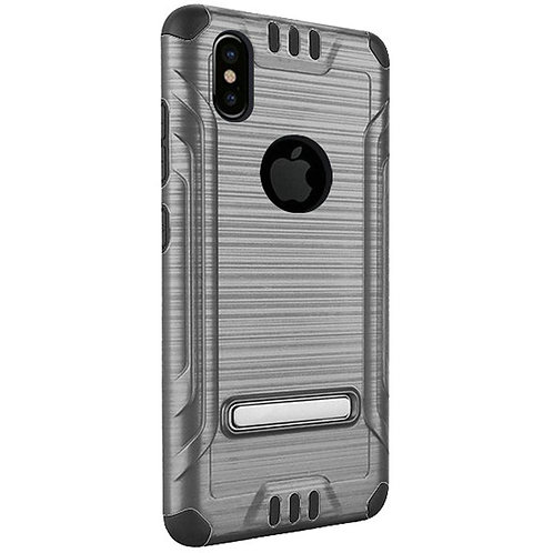 Tech Shockproof Case (Gray)Fits Iphone X