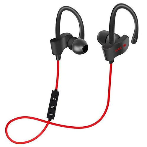 Sport Bluetooth Wireless Earphones (Red)