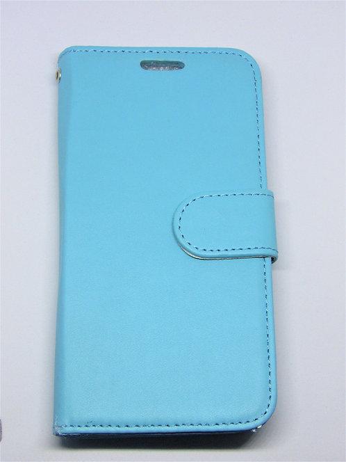 Premium Flip Wallet Case with strap Galaxy 6 Edge