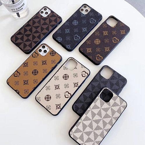 Luxury Geometric Lattice Pattern Case for iPhone