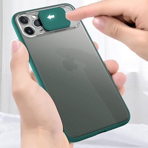 Slide Lens Window Case for Iphone