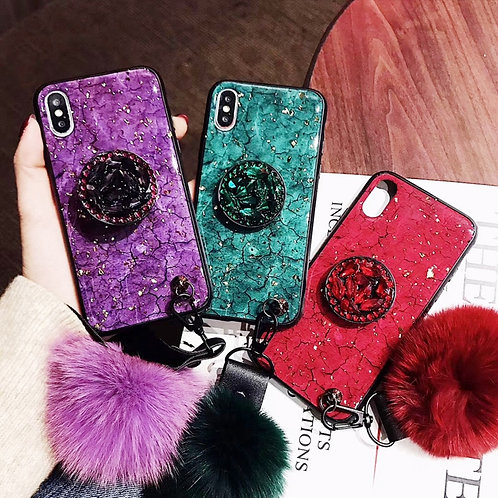 Luxury Case for iPhone 11 12 Pro X XR Xs Max 6s 7 8 Plus Samsung S9S10 Note9 20