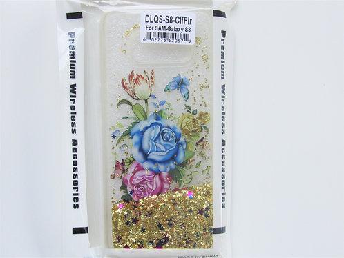 Antique Flower Liquid Quicksand Samsung 8