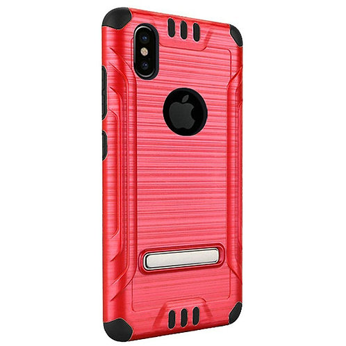 Tech Shockproof Case (Red)Fits Iphone X