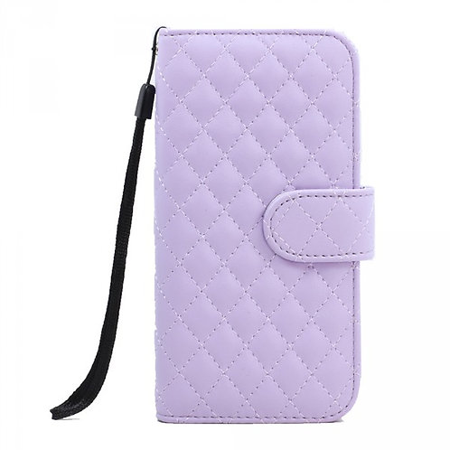 Quilted Wallet Case with strap Galaxy 6