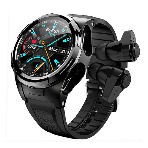 S201 Reloj Hombre Smart Watch With Earbuds