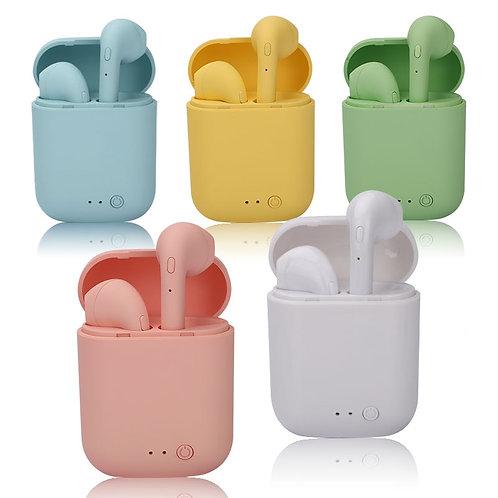 Mini-2 TWS Wireles Bluetooth 5.0 Earphone Macaron Earbuds With Mic Charging Box