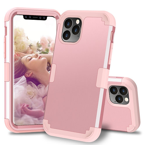 Shockproof Protect Hybrid Hard Rubber Impact Armor Phone Cases