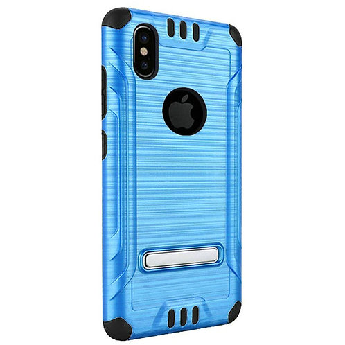 Tech Shockproof Case(Blue) Fits Iphone X