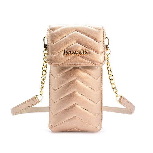 Mila Mini Crossbody Phone Wallet - Rose Gold