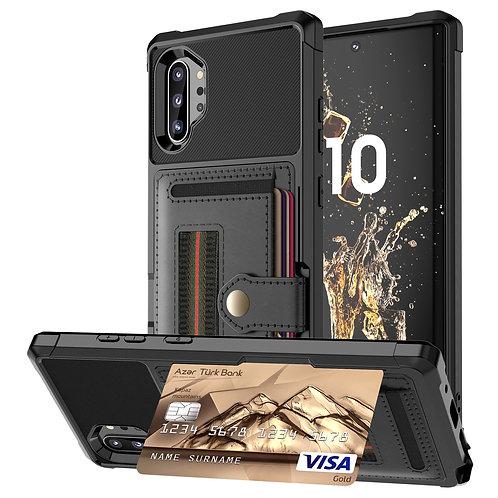 Samsung Galaxy Note 10 9 S10 S9 Plus S10e S10+ Case,WEFOR Leather Multi Card