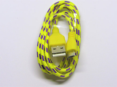 Braided Micro USB Charger