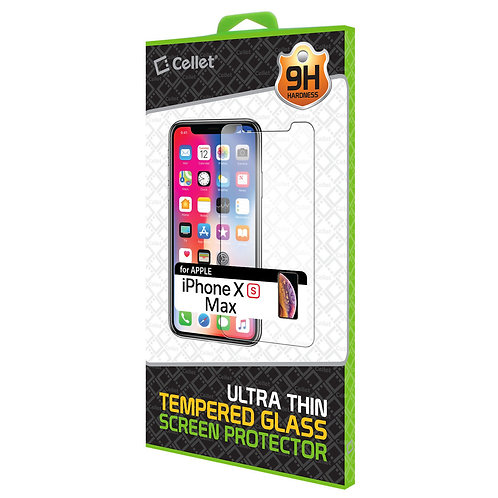 Cellet Tempered Glass Screen Protector For Iphone X(max)