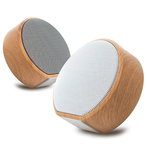 Retro Wood Bluetooth Small Speaker