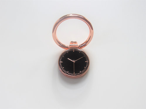Clock Style Phone Ring (Rose Gold)