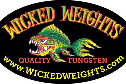 Wicked Weights Decal