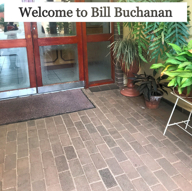 Welcome to Bill Buchanan
