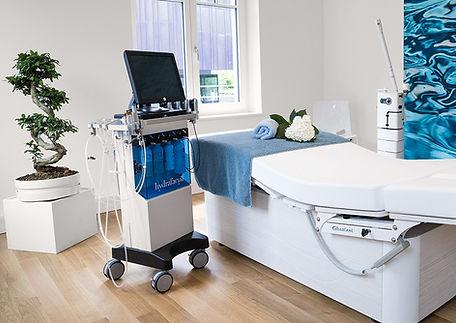 HydraFacial MD im Behandlunszimmer