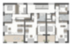 Grundriss aller Wohnungen