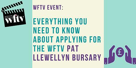 WFTV Pat Llewellyn Bursary 2020