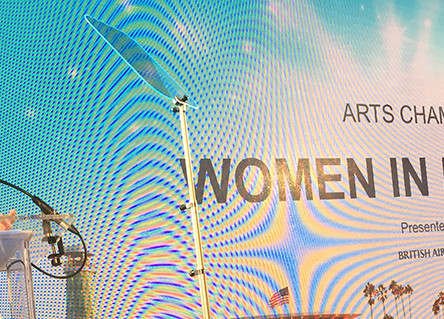 WFTV Wins Arts Champion Award at the Newport Beach Film Festival Awards in London