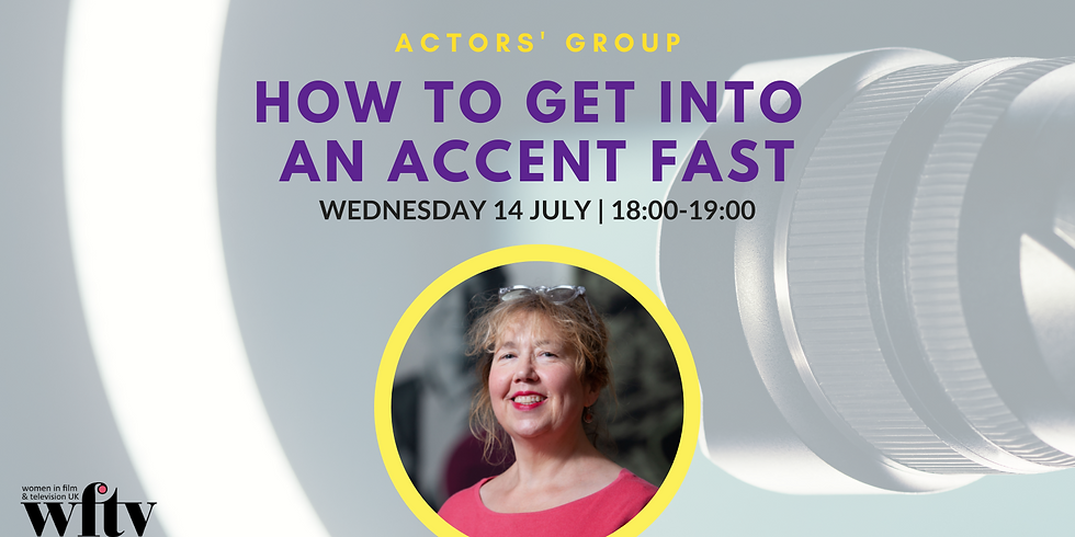 *Event Postponed* Actors' Group: How to Get into an Accent Fast