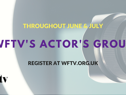 Actors' Group Event Series - Summer 2021
