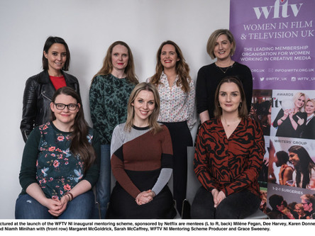 WFTV inaugural mentoring scheme for Northern Irish women sponsored by Netflix