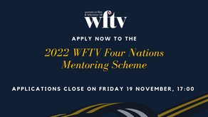 WFTV opens applications for Four Nations Mentoring Scheme