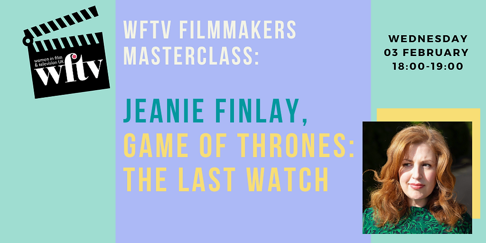 Filmmakers Masterclass: Jeanie Finlay, Game of Thrones: The Last Watch