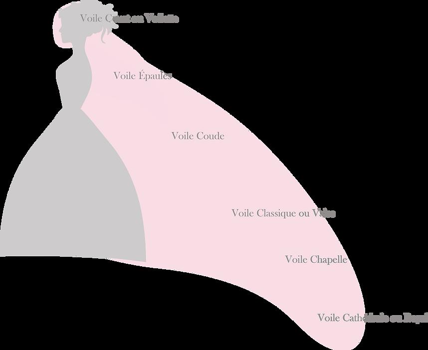 Schéma des voiles diffeenes