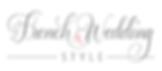 logo French wedding style