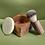 végétalien, blaireau, rasoir, bol à raser, crème à raser, savon à raser, bois, cadeau, savon, montréal, canada, naturel
