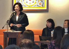 東京都代官山「Urth Cafe」 黒川由紀子先生による講演会