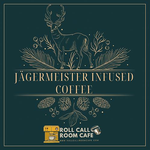 Jägermeister infused coffee