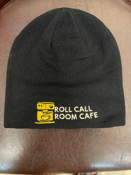 Roll Call Room Cafe winter hat