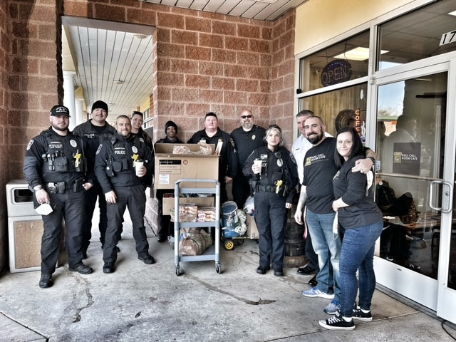 Thanksgiving with the Town of Dumfries Police